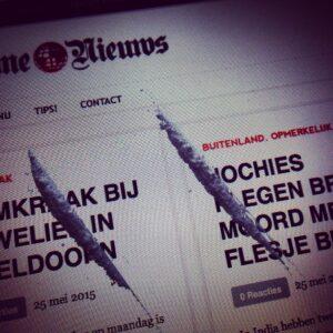 Lijntjes cocaïne © crime nieuws