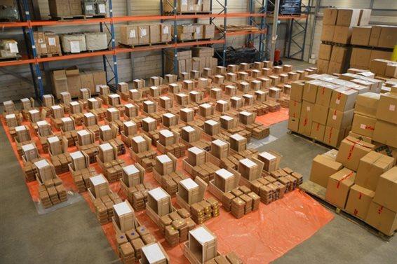 2900 kilo curacao, partij coke curacao, cocaine onderschept haven rotterdam, rotterdam haven drugs onderschept