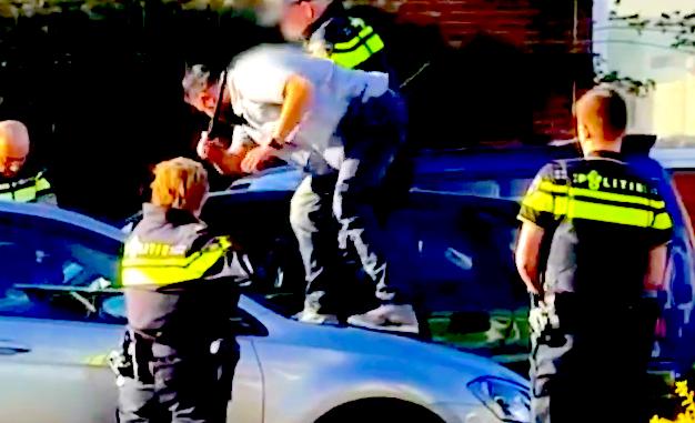 politiegeweld aanhouding arnhem, video aanhouding arnhem, politie geweld arnhem