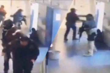 VIDEO: Zwaarbewapende sicarios maken klus af en ontvoeren neergeschoten doelwit uit ziekenhuis