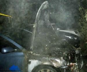 ночные поджоги автомобилей