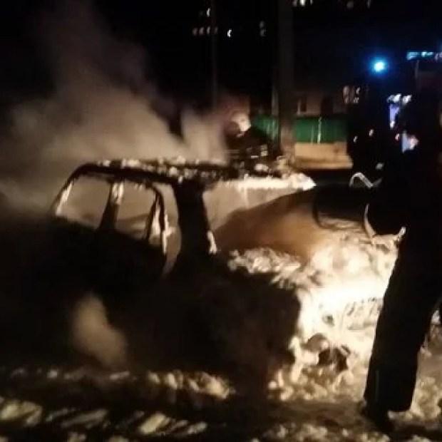 Автоподжог в Севастополе