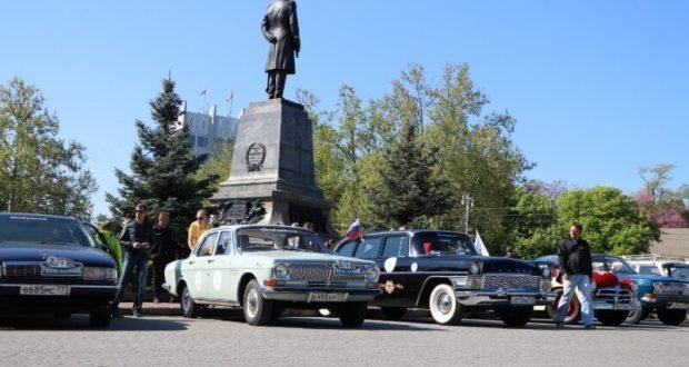 Ралли ретро-машин стартовало в Крыму