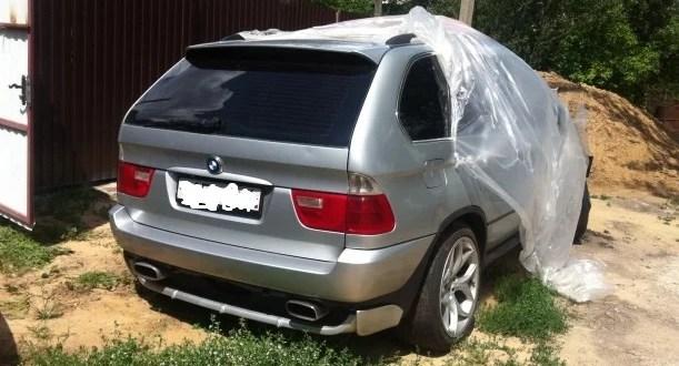 Задержан водитель автомобиля BMW X 5, сбивший двух пешеходов