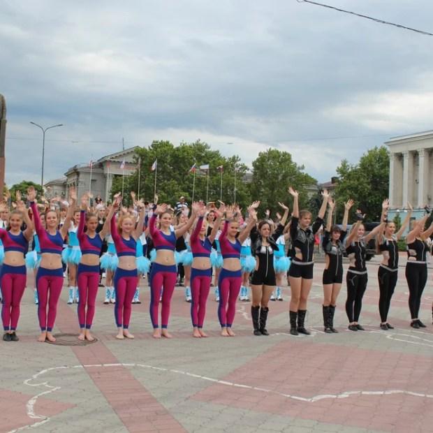Симферополь отметил День России