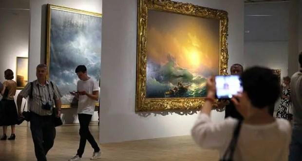 Выставку Айвазовского в Москве уже посетили 55 тыс. зрителей