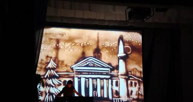 Ксения Симонова показала пермякам чудеса на песке
