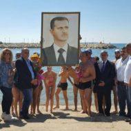 Россияне и сирийцы организовали заплыв за мир в Сирии