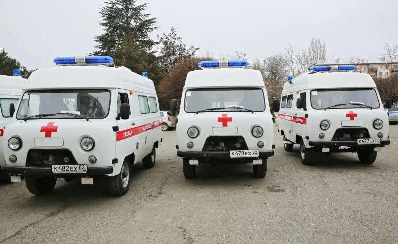 Скорая помощь Крыма получила новые автомобили
