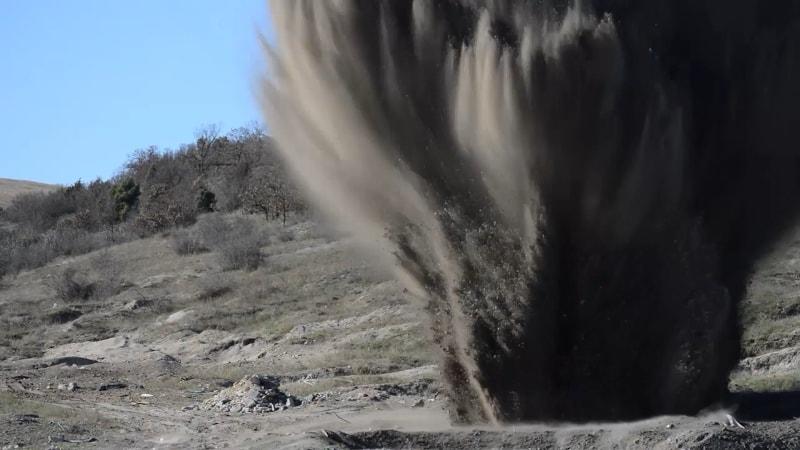"""В районе строительства трассы """"Таврида"""" взорвали фугасную бомбу"""