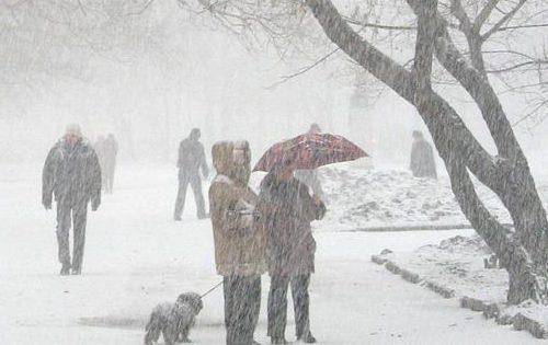 На Крым идёт ураган
