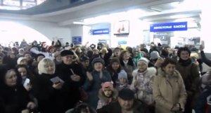 Евпатория и Алушта поддержалb песенный флешмоб-перекличку городов