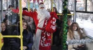 В Новогоднюю ночь в Симферополе троллейбусы будут ходить до 2 часов ночи