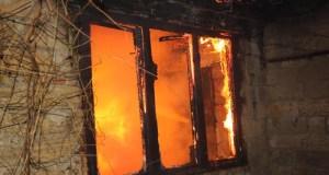 В Симферополе пожарные спасли двоих погорельцев