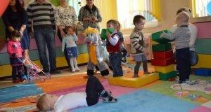 В пгт.Черноморское открыли новый модульный детский сад