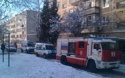 В Керчи горела квартира: спасены два человека, десять - эвакуированы