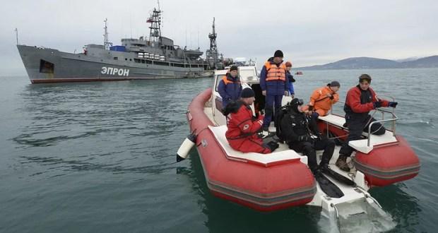 В Черном море завершилась основная фаза поисковой операции Ту-154