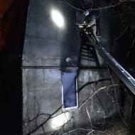 Пожар в Балаклавском районе едва не «убил» двух человек