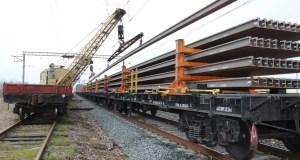 Для Крымской железной дороги привезли 100-метровые рельсовые плети
