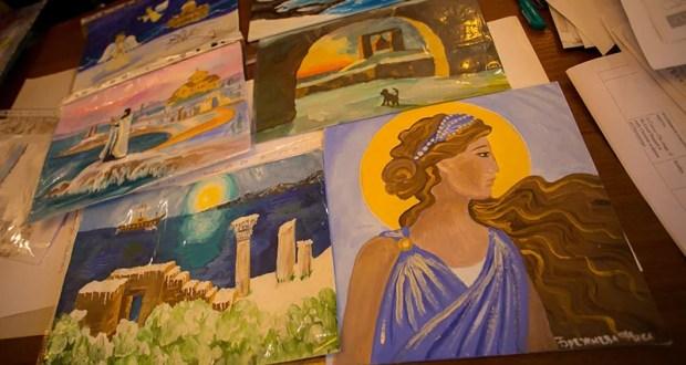 В Херсонесе подвели итоги конкурса детского рисунка