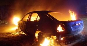 Виновный в умышленном поджоге десяти автомобилей в Крыму наказан