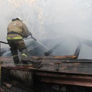 Пожар в Симферополе — едва не погибли четыре человека