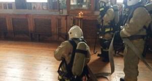 Храм Александра Невского в Керчи не сгорел