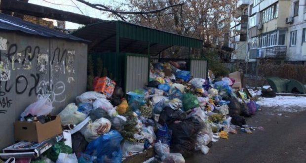 Уборка мусора в Симферополе: проблемы и варианты решения