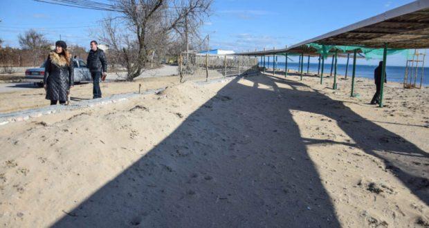 Пляжи Евпатории – в поле зрения проверяющих