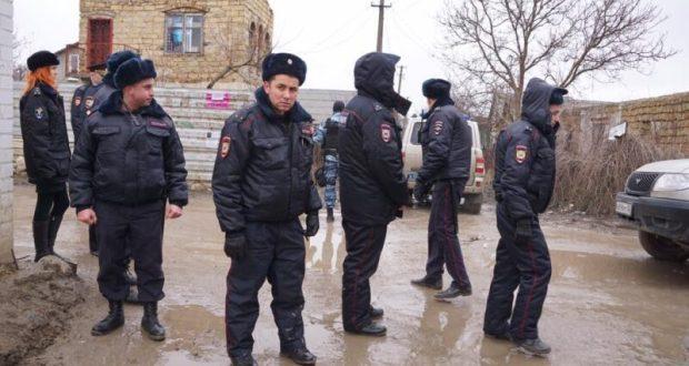 Спецоперация МВД в Симферополе. Задержано, минимум, десять человек