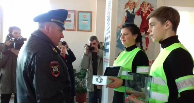 Во всех школах города Симферополя прошел Единый урок по изучению ПДД