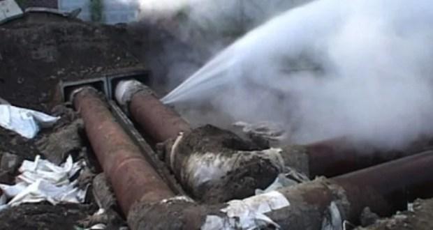В Керчи произошла авария на теплотрассе