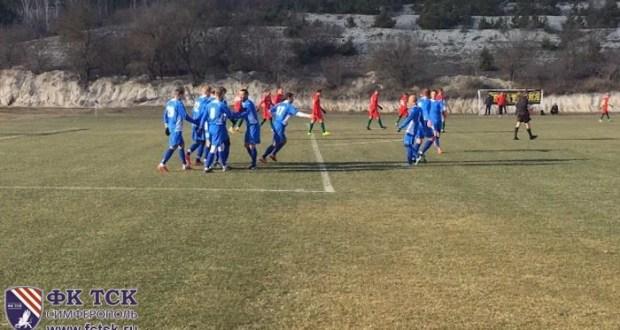 Контрольные матчи февраля: «ТСК-Таврия» - ФК «Евпатория» 2-1
