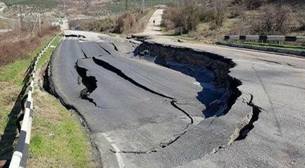 На разрушенном участке трассы «Симферополь – Севастополь» начались ремонтные работы