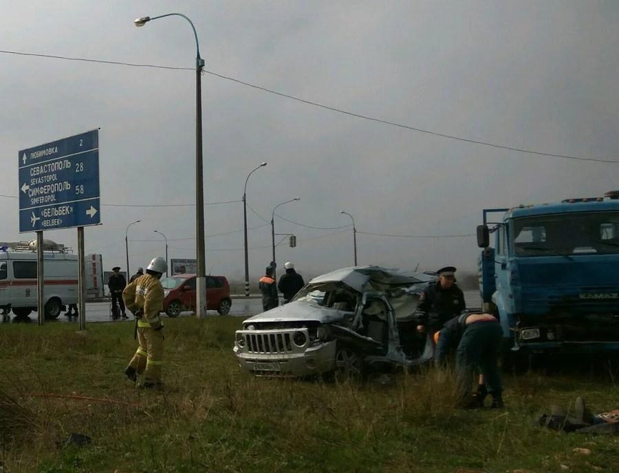 Под Севастополем, на перекрестке Бельбек-Любимовка еще одно смертельное ДТП