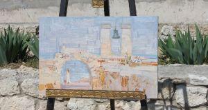 В Херсонесе открылась выставка «Вдохновение Корсуни»