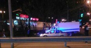 ДТП в Симферополе: автозак протаранил легковушку