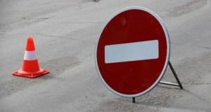 В Симферополе перекрыли движение еще на одном участке улицы Толстого