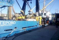 Севастопольское рыбопромысловое судно «Багерово» арестовали пограничники