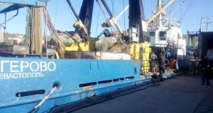 """Севастопольское рыбопромысловое судно """"Багерово"""" арестовали пограничники"""