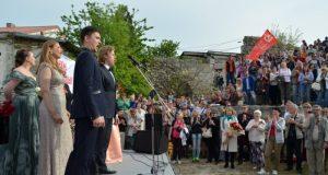 В Государственном музее-заповеднике «Херсонес Таврический» выступили артисты Мариинского театра