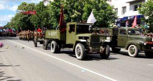 72-я годовщина Победы в Великой Отечественной войне в Симферополе