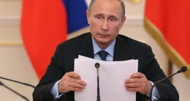 Владимир Путин дал поручение главам Крыма, Севастополя и Кубани