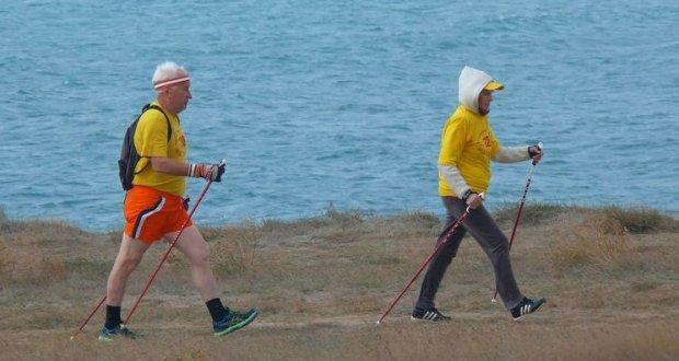 20-21 мая в пгт. Черноморское - Фестиваль скандинавской ходьбы