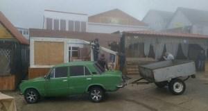 На плато Ай-Петри сносят ВСЕ торговые объекты