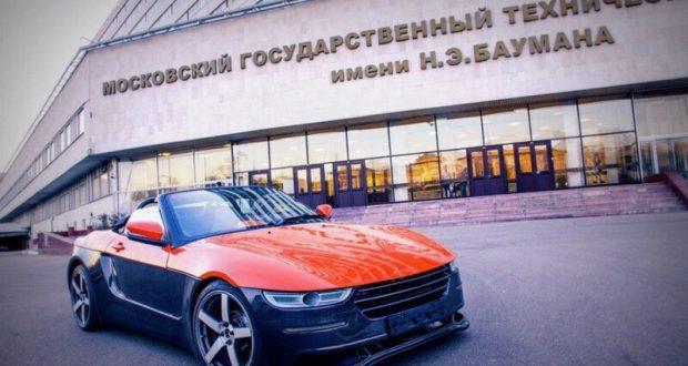 В «Бауманке» работают над почти серийной версией родстера «Крым»