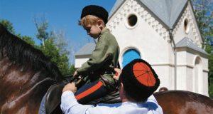 В субботу в Симферополе проведут казачий обряд «Посажение на коня»
