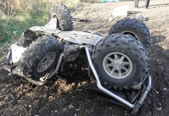 ДТП в Крыму, 23 июня. Квадроцикл убил своего водителя...