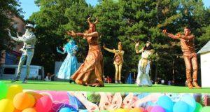 Детский парк Симферополя отметил День рождения