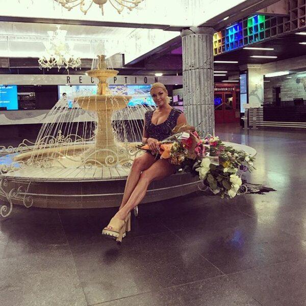 Сегодня Анастасия Волочкова выступит в Евпатории